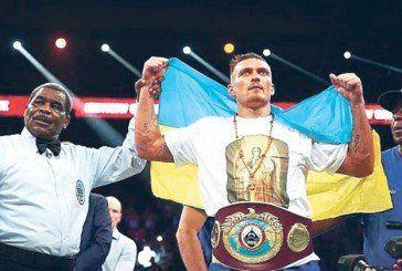 Олександр Усик – український отаман світового боксерського рингу