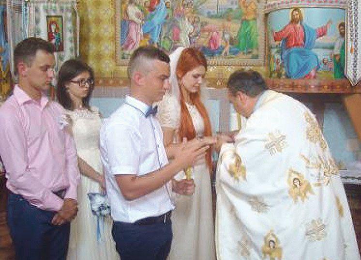 На Тернопіллі молоде подружжя об'єднало Схід і Захід (ФОТО)