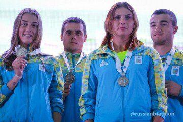Спортсмени ТНЕУ отримали першу нагороду Чемпіонату світу з біатлону (ФОТО)