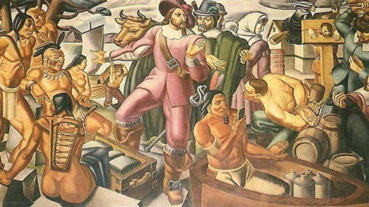 На фресці 1937 року виявили індіанця з iPhone (ФОТО)