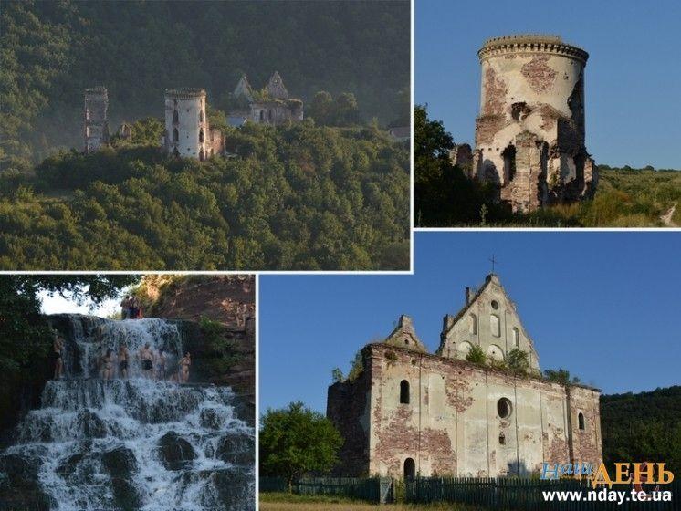 Яким Тернопілля побачили хмельницькі журналісти: урочище Червоне, найгарніші замкові руїни та найвищий водоспад… (ФОТО, ВІДЕО)