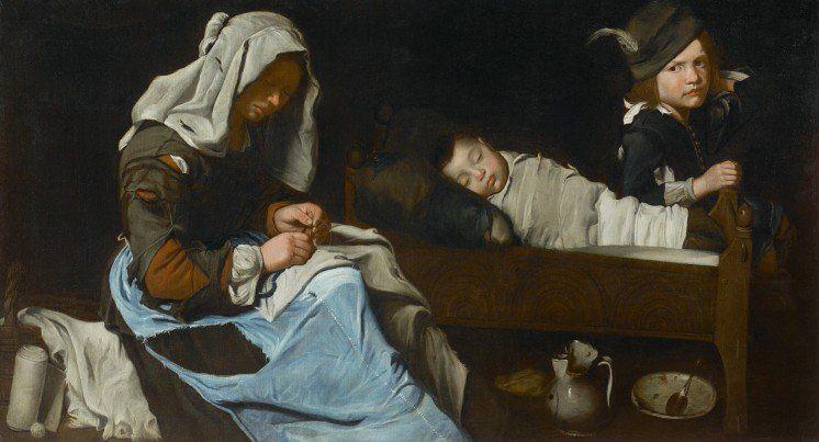 На картинах 17 століття побачили людей, одягнутих в …джинси (ФОТО)
