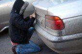 У Тернополі злодії крадуть номери іноземної реєстрації з авто