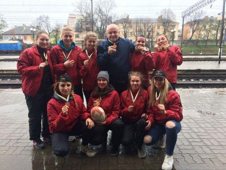 Команда ТНЕУ привезла «бронзу» із Чемпіонату України з регбі-7 серед жіночих команд U-21 (ФОТО)
