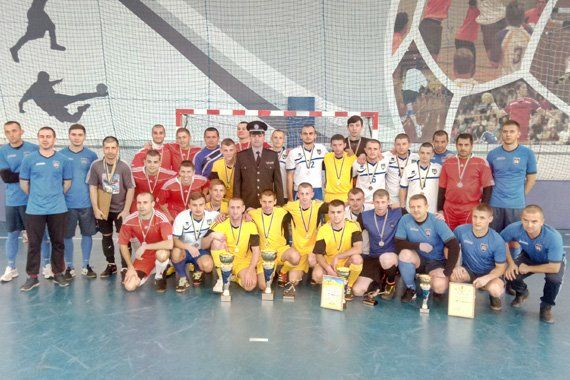 Поліцейські Тернопільщини вибороли «бронзу» на чемпіонаті з міні-футболу (ФОТО)