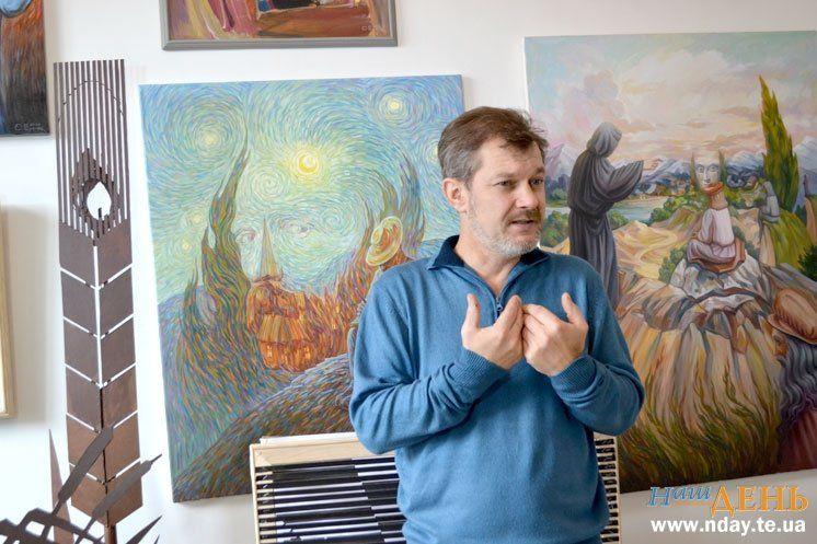 Художник з Бережан створює незвичайні скульптури, що оживають на очах (ВІДЕО, ФОТОРЕПОРТАЖ)