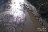 Як тернопільські водії з пішохідної доріжки зробили дорогу (ФОТОФАКТ)