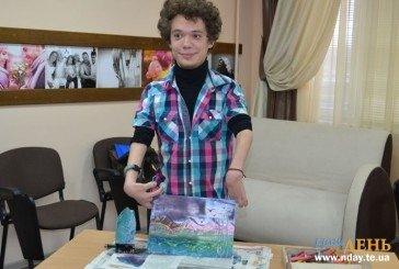 Тернопільський студент Кирило Богданюк малює картини… праскою (ФОТО)