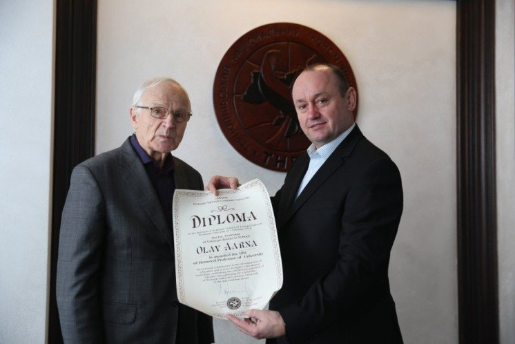 У ТНЕУ підписали Меморандум про співпрацю з Естонською бізнес-школою (ФОТО)
