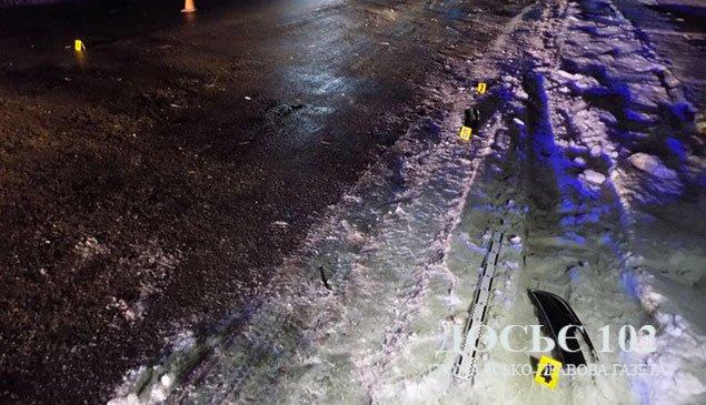 На Кременеччині водій збив пішохода та втік (ФОТО)