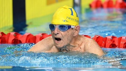 99-річний плавець побив світовий рекорд