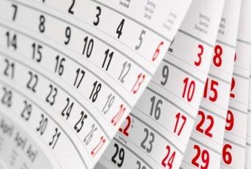 У липні – максимальна кількість робочих днів