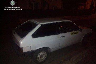 У Тернополі хлопець з товаришем взяли авто покататися без дозволу батька