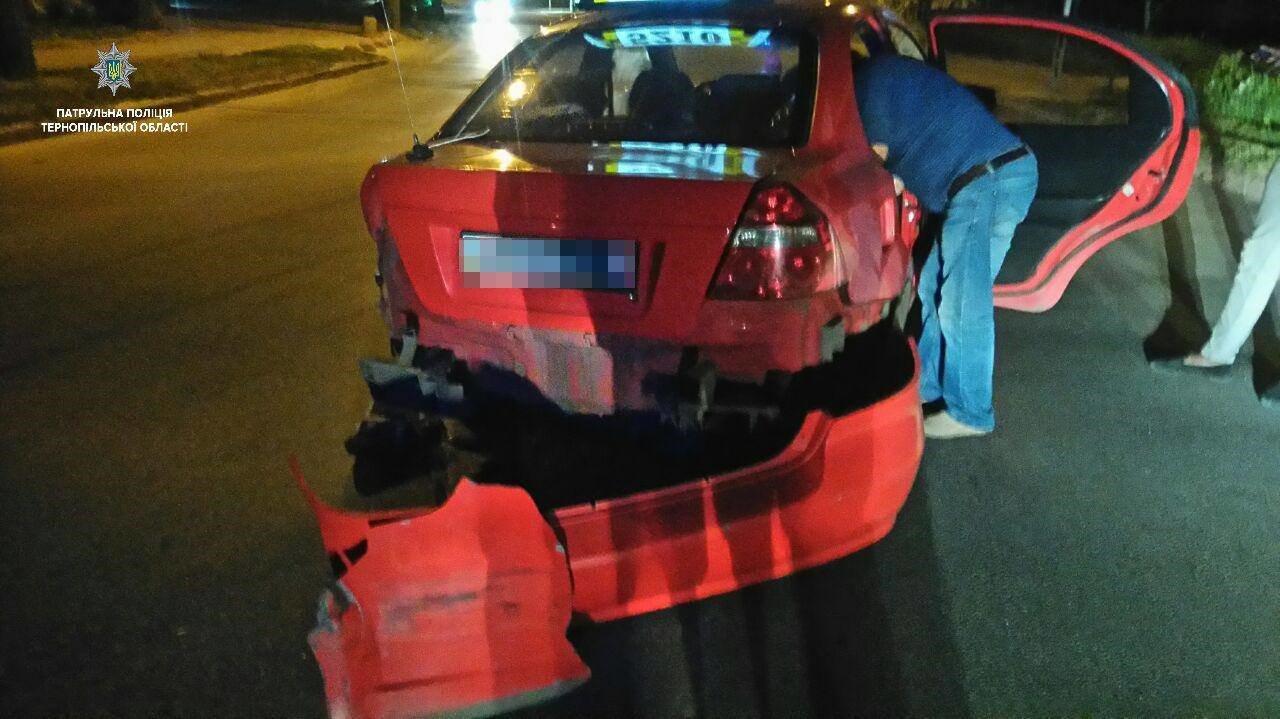 У Тернополі нетверезі водії скоїли три ДТП (ФОТО)
