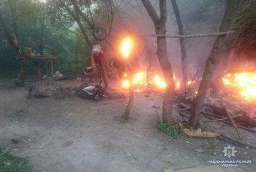 7 дорослих і 33 дітей: у Тернополі розгромили табір ромів