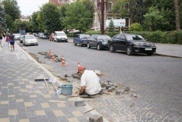 Товариство, яке вкладало в Тернополі бруківку, ошукало міський бюджет на 1 млн 125 тис грн