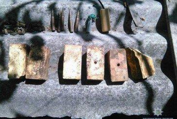 Мешканка Краматорська добровільно здала поліцейським майже 26 кг вибухівки та боєприпаси (ФОТО)