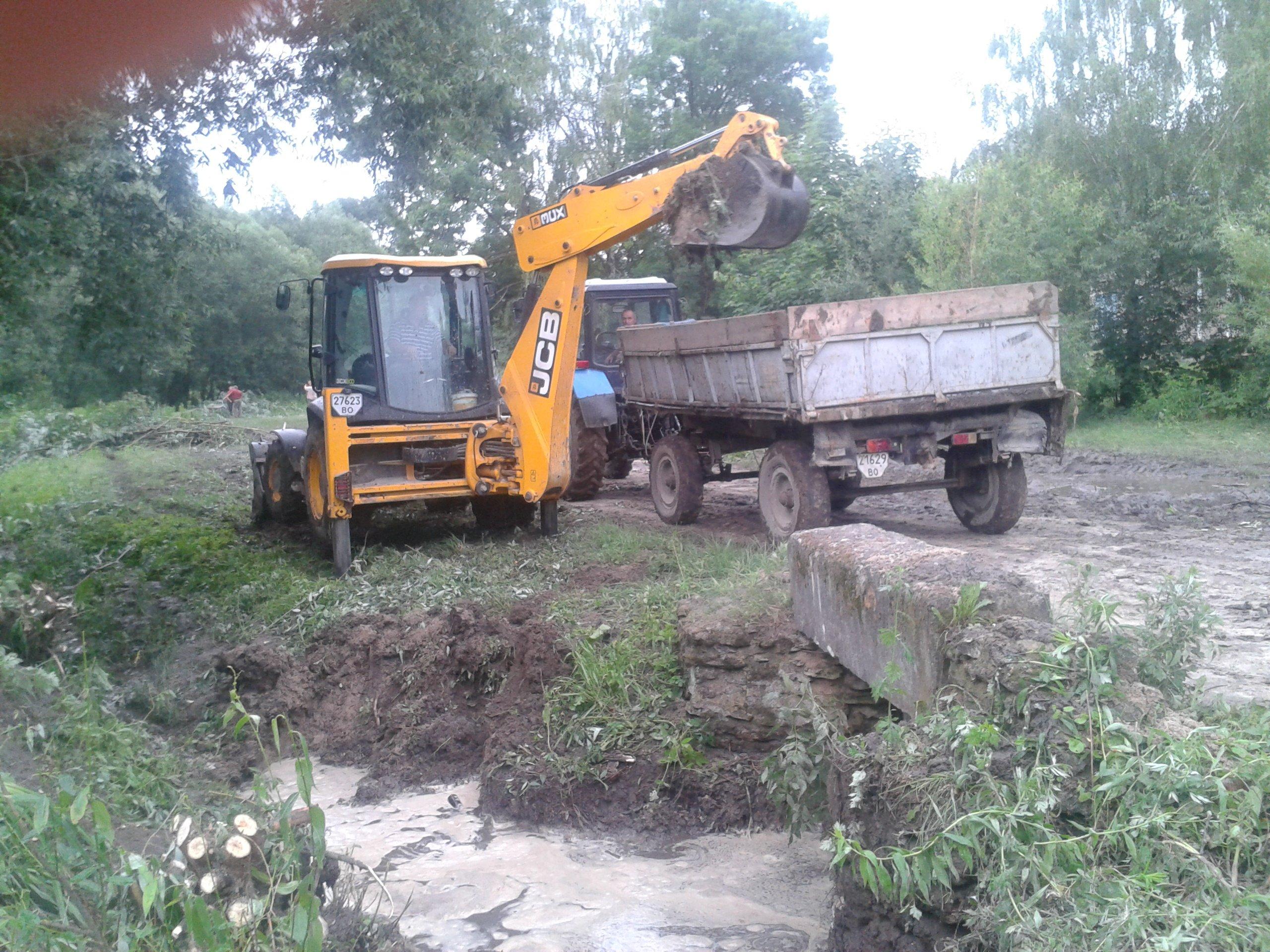 Проливні дощі наробили лиха на Шумщині (ФОТО)
