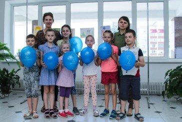 У ТНЕУ – дитяча виставка малюнків (ФОТО)