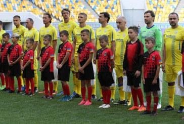 У Львові зіграли ветерани України та Грузії (ФОТО)