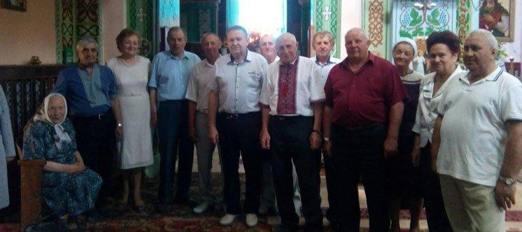 На Кременеччині однокласники зустрілися через 50 літ (ФОТО)