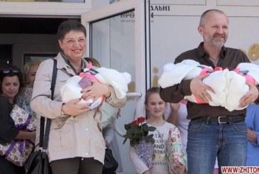 Мамине серце: після втрати єдиного сина в АТО, 48-річна Українка народила трійню (ФОТО, ВІДЕО)