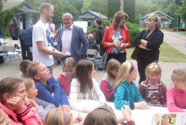 На Лановеччині, в оздоровчому таборі «Лісова казка», для дітей провели квест «Profi land» (ФОТО)