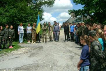 Молодь Зборівщини пройшла військово-патріотичний вишкіл (ФОТО)