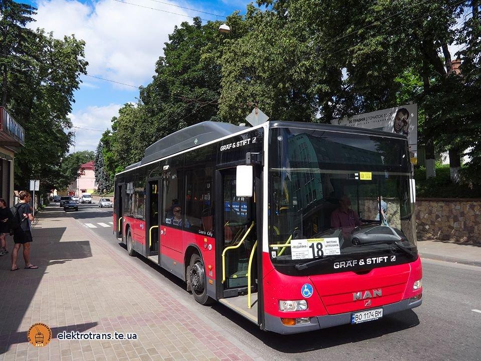 Тернополян почав перевозити перший низькопідлоговий автобус (ФОТО)