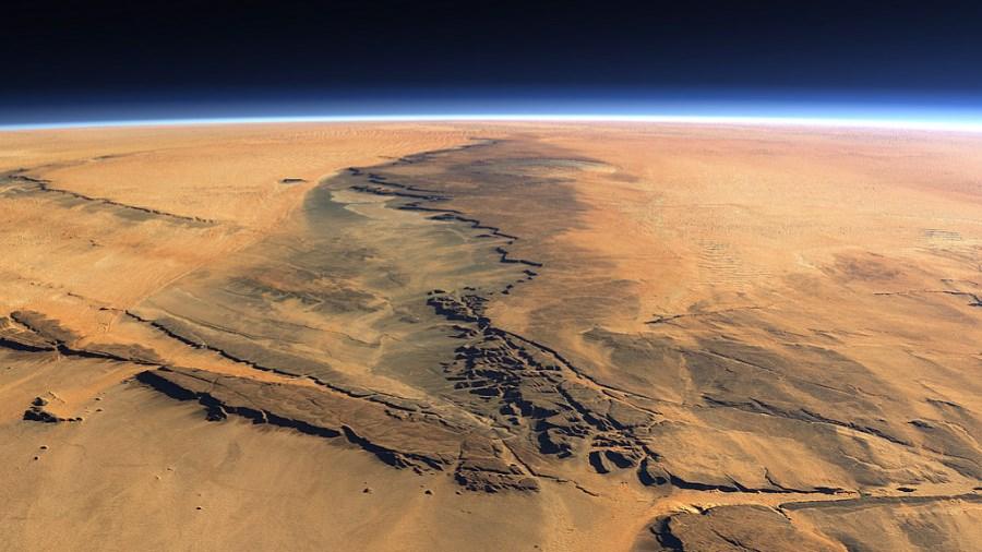 Шторм на Марсі досяг планетарних масштабів (ФОТО)