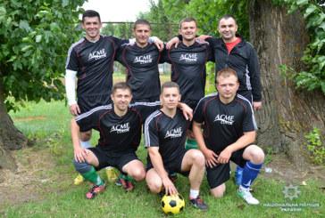 Тернопільські слідчі у запеклій боротьбі виграли чемпіонат з футболу (ФОТО)