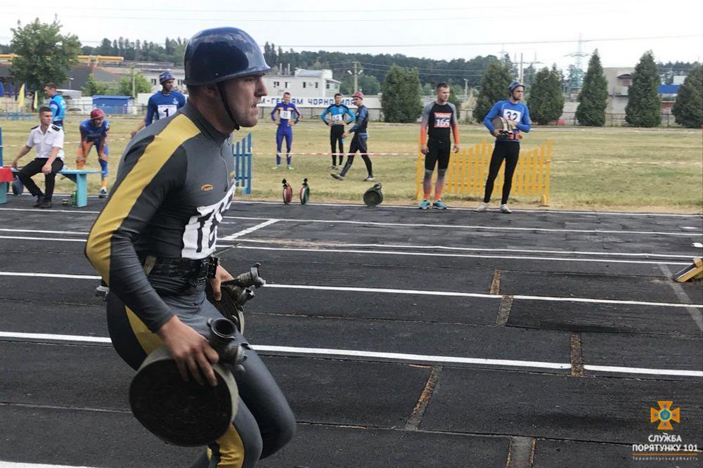 Спортсмени Тернопільщини зайняли 4-те загальнокомандне місце на чемпіонаті України з пожежно-прикладного спорту серед юнаків (ФОТО)