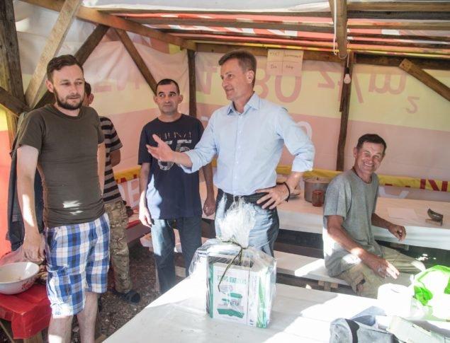 Візит на Прикарпаття: патріоти України і професіонали мають об'єднатися і змінити країну на краще