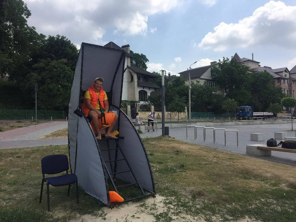 На тернопільському пляжі «Циганка» працюють рятувальники (ФОТО)
