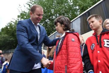 Діти учасників АТО з Тернопільщини поїхали на оздоровлення до Польщі (ФОТО)