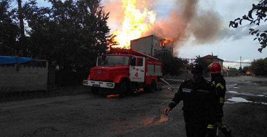 Що стало причиною масштабної пожежі на спиртзаводі у Збаражі?