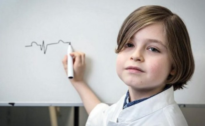 8-річний бельгієць навчатиметься в університеті