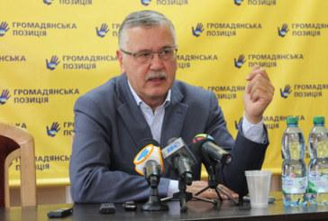 Анатолій Гриценко: «Змінам до Конституції, якими маніпулюють перед виборами, буде аплодувати весь олігархат»