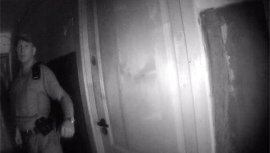 Львівські патрульні опублікували відео з квартири, власник якої хотів підірвати будинок