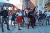 Фанати бугі-вугі влаштували запальний флешмоб на Майдані (ВІДЕО)