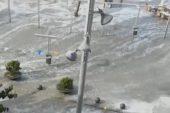 На елітні іспанські курорти обрушилося цунамі: вода змивала на своєму шляху автомобілі, столики барів та кафе (ВІДЕО)