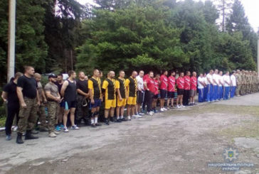 Тернопільські силовики стали призерами богатирських ігор (ФОТО)