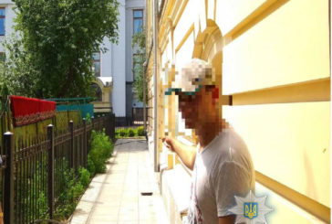 У столиці затримано чоловіка який викрав 20 метрів мідного кабелю
