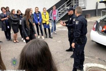 На базі ТНЕУ патрульні поліцейські провели практико-орієнтоване навчання для літньої школи «Лідер права-2018» (ФОТО)