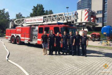 Тернопільські рятувальниками пройшли спецнавчання у Польщі (ФОТО)