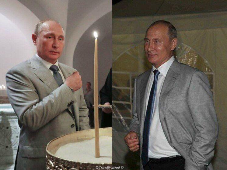 Один Крим – два Путіна: двійники засвітилися на різних заходах окупованого півострова
