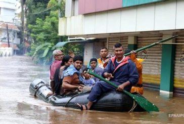 Повінь в Індії: кількість жертв перевищила 300 осіб
