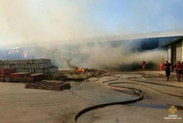 У масштабній пожежі на Лановеччині горіло 430 тонн соломи (ФОТО)