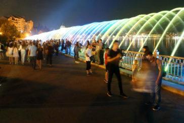 Найдовший кисневий фонтан України «виріс» до 300 метрів: незвичним водограєм можна помилуватися вечорами у Тернополі (ФОТО)