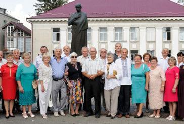 У Козові через 45 років зустрілися учні двох шкіл (ФОТОРЕПОРТАЖ)